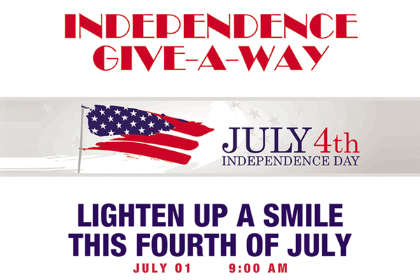 Independence Give-A-Way